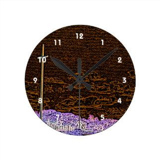 cross invert st augustine sketch landscape round clock