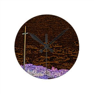 cross invert st augustine sketch landscape round clocks