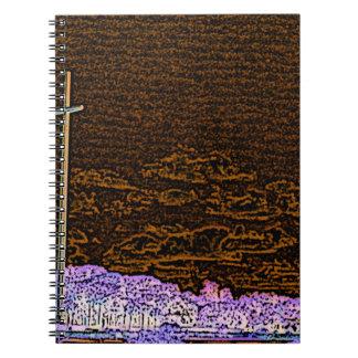 cross invert st augustine sketch landscape spiral notebook