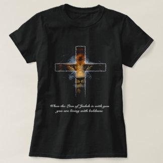 Cross - Jesus as the lion of Judah T-Shirt