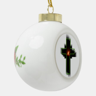 Cross Jesus Christ Faith Love Peace Destiny Ornament