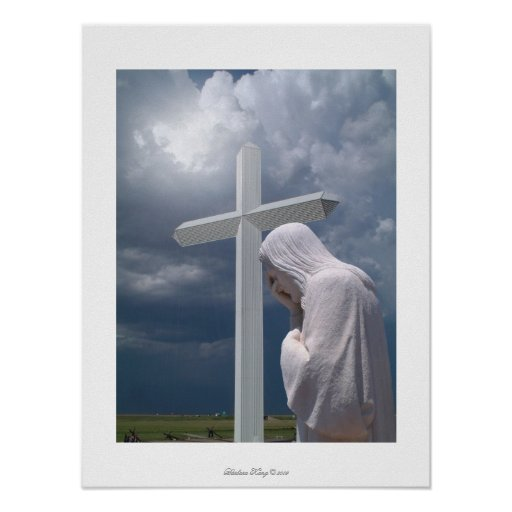 Cross & Jesus Poster