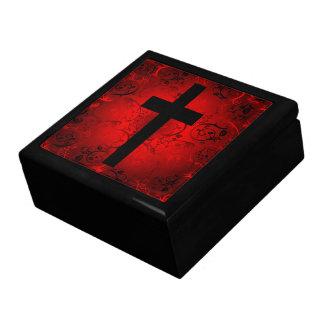 Cross Keepsake Jewelry Gift Box