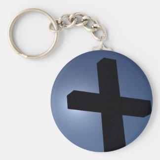 Cross Keychain