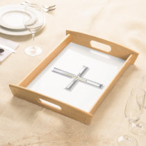 Cross Large Serving Tray