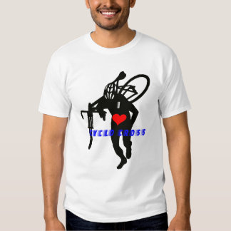 Cross Man Heart Tshirts