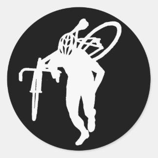 Cross Man Sticker