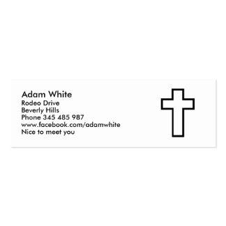 Cross Mini Business Card