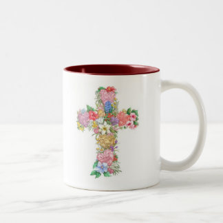 Cross Mug - Love, Hope, Faith
