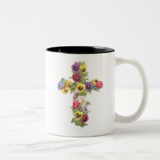 Cross Mug - Pansy