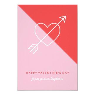 Cross My Heart Classroom Valentine - Berry Card
