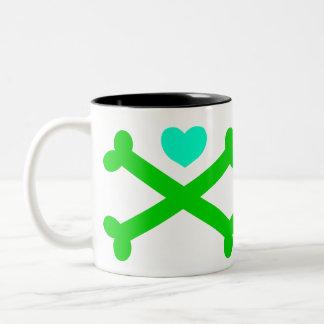Cross My Heart (Heart and Crossbones) Mug