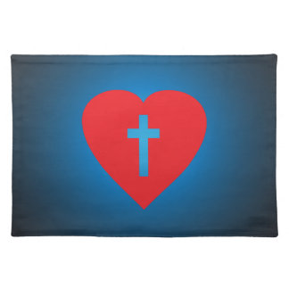Cross My Heart Placemat