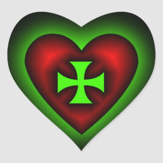 Cross my Heart Sticker