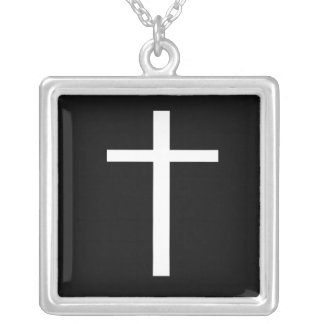 Cross Square Pendant Necklace