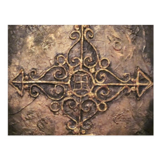 Cross nr 1, 2011 postcard