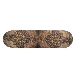 Cross nr 1, 2011 skateboard deck