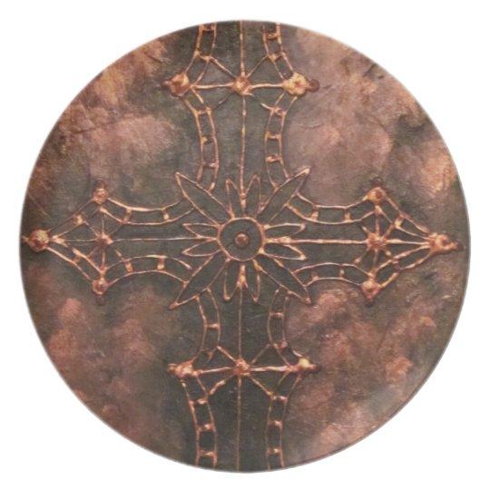 Cross nr 3, 2011 dinner plate