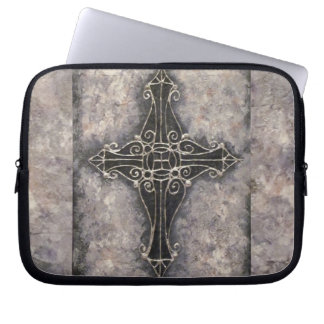 Cross nr 4, 2011 laptop sleeve