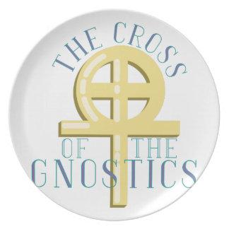 Cross Of Gnostics Dinner Plate