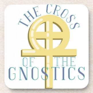 Cross Of Gnostics Drink Coaster