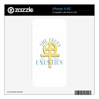 Cross Of Gnostics iPhone 4S Decal