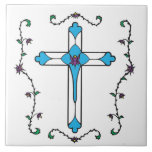 Cross Of Jesus Tile