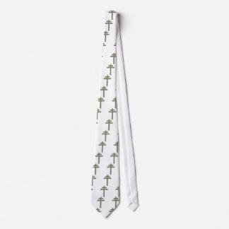 Cross of Lorraine (Croix de Lorraine) Neck Tie