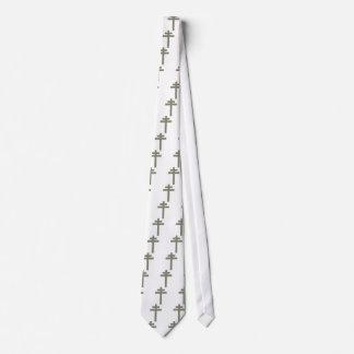 Cross of Lorraine (Croix de Lorraine) Tie