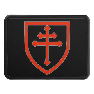 CROSS of LORRAINE Trailer Hitch Cover