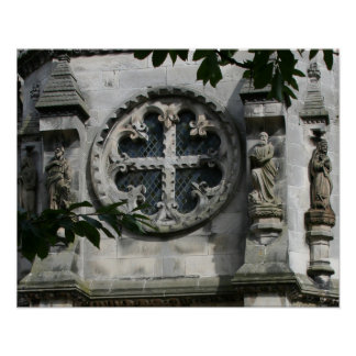 Cross of Love Rosslyn Chapel 16x20 Poster