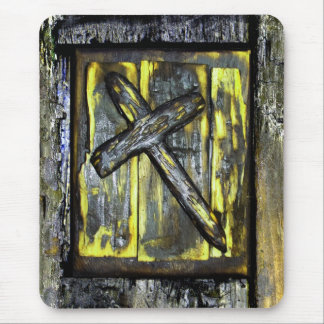 Cross of Mercy Sympathy Mousepads