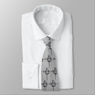cross of nails and thorns tie