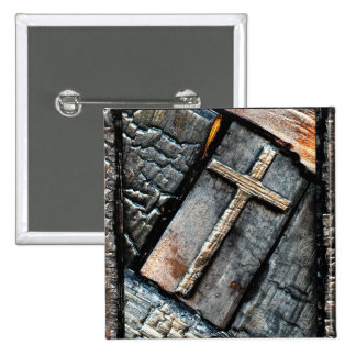 Cross of Protection Pinback Button