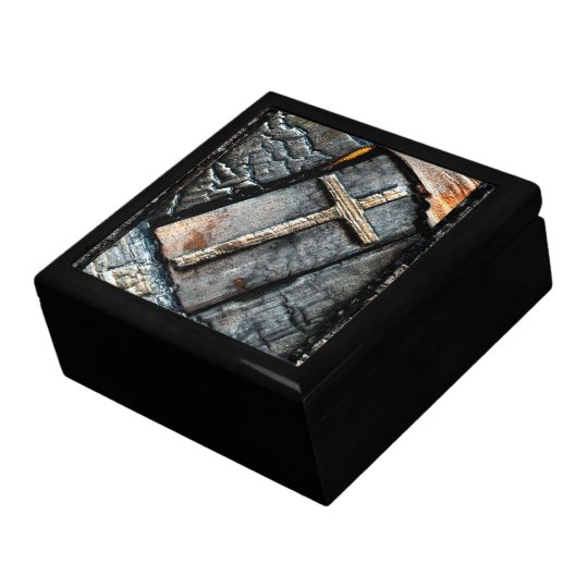 Cross of Protection Jewelry Box