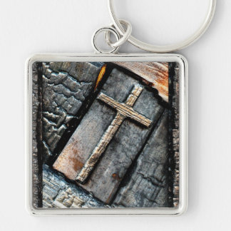 Cross of Protection Keychain