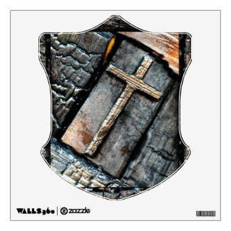 Cross of Protection Wall Decal