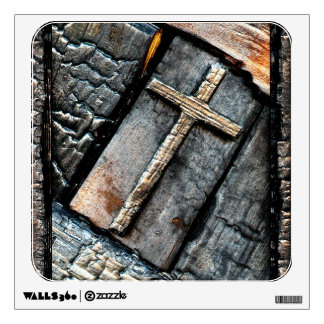 Cross of Protection Wall Sticker