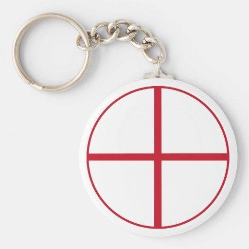 Cross of Ramiro I of Castilla Key Chains