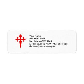 Cross of Saint James Label