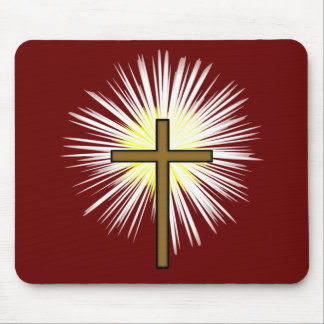 Cross of Saint Peter Mouse Pad