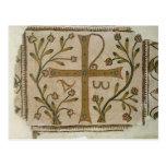 Cross of Sbeitla, from Basilica of Henchir Ali Postcard