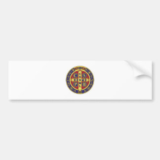 Cross of St. Benedict Car Bumper Sticker