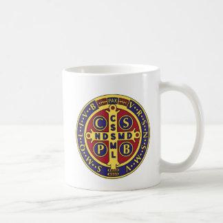 Cross of St. Benedict Classic White Coffee Mug