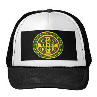 Cross of St. Benedict Design 2 Trucker Hat
