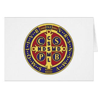 Cross of St. Benedict Greeting Card
