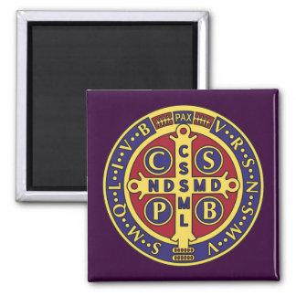 Cross of St. Benedict Fridge Magnets