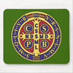 Cross of St. Benedict Mousepads