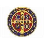 Cross of St. Benedict Postcard