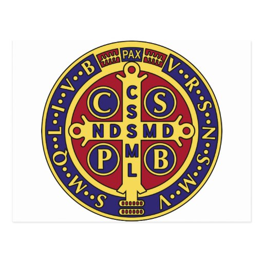 Cross of St. Benedict Post Card
